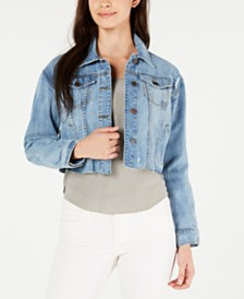 STS Blue Miley Cotton Cropped Denim Jacket