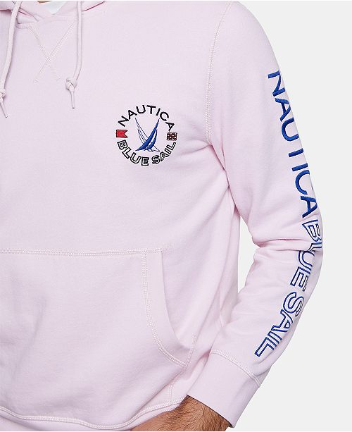 08c3f224e11 ... Nautica Nautica Men s Blue Sail Fleece Hoodie