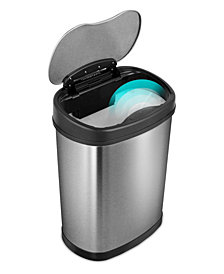 Nine Stars 3.9 Gallon Stainless Steel Sensor Trash Can