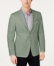 Men's Classic-Fit Ultra-Flex Solid Linen Sport Coat