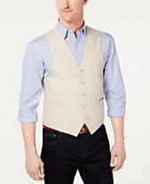 e4b4b3eca9ca Lauren Ralph Lauren Men's Classic-Fit Linen Vest
