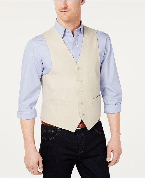Lauren Ralph Lauren Men's Classic-Fit Linen Vest