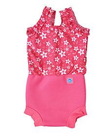 Splash About Girl's Happy Nappy Swim Diaper Swimsuit