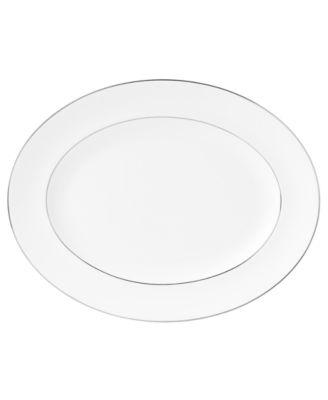 Signet Platinum Medium Oval Platter