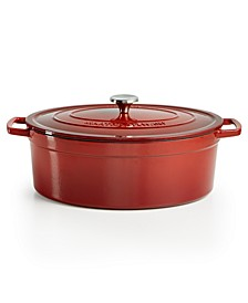 Enameled Cast Iron Oval 8-Qt. Dutch Oven, Created for Macy's
