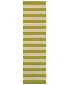 """Oriental Weavers Riviera 4768 2'3"""" x 7'6"""" Indoor/Outdoor Runner Area Rug"""