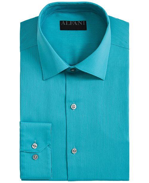 pour cordon Chemises Hommes Slim coton Alfani pourAvis Chemise Fit a hommescree Turquoise Alfatech par en deCxBo