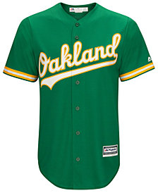 Majestic Men's Oakland Athletics  Blank Replica Cool Base Jersey
