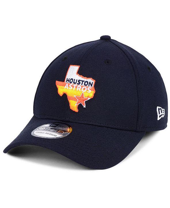 New Era Houston Astros Core Classic 39THIRTY Cap