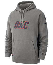 Nike Men's Oklahoma City Thunder Earned Edition Courtside Hoodie