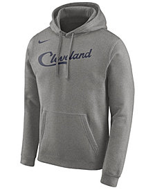 Nike Men's Cleveland Cavaliers Earned Edition Logo Essential Hoodie