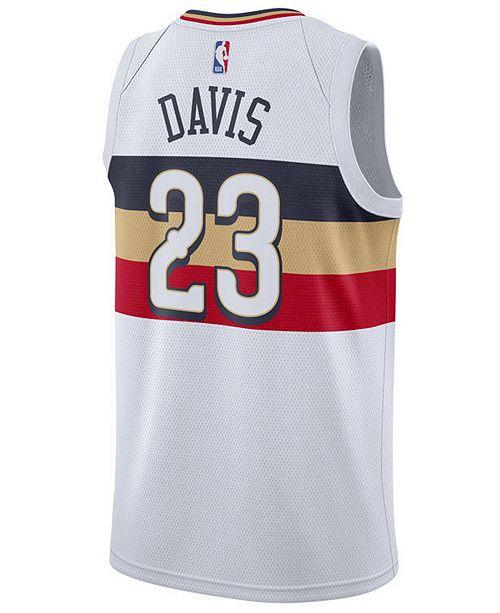 443495728f7 ... Nike Men s Anthony Davis New Orleans Pelicans Earned Edition Swingman  Jersey ...