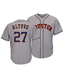 Majestic Men's Jose Altuve Houston Astros Player Replica Cool Base Jersey