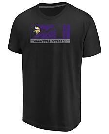 Majestic Men's Minnesota Vikings Hook And Ladder T-Shirt