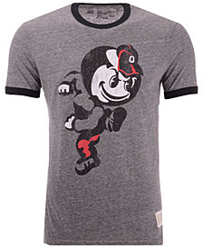 Retro Brand Men's Ohio State Buckeyes Ringer T-Shirt