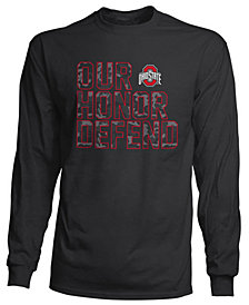 J America Men's Ohio State Buckeyes Our Honor Defend Camo Long Sleeve T-Shirt