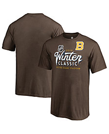 Majestic Men's Boston Bruins 2019 Winter Classic Ice Wordmark T-Shirt