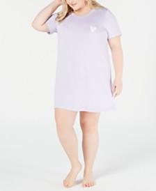 Jenni Plus Size Soft Knit Sleepshirt, Created for Macy's