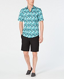Geometric Shirt & Alfatech Shorts, Created for Macy's
