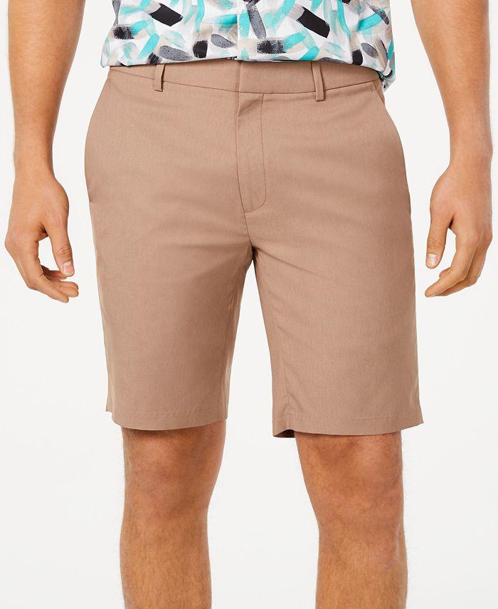 Alfani - Men's Stretch-Waistband Shorts