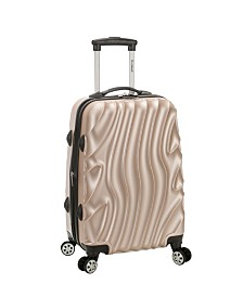 "Rockland Wave Melbourne 20"" Hardside Carry On"