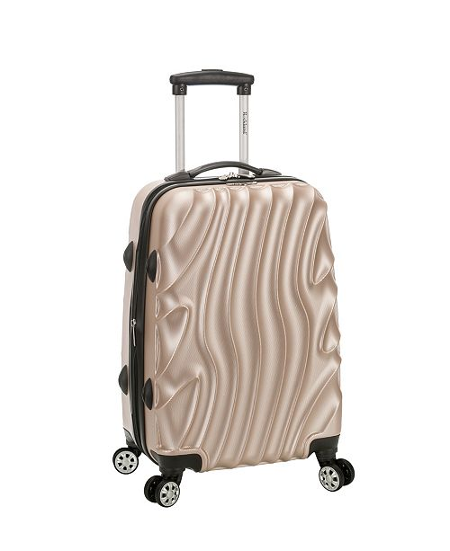 """Rockland Melbourne 20"""" Wave Expandable ABS Carry On"""