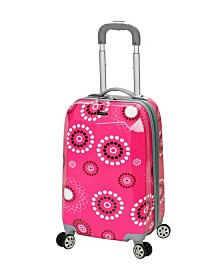 "Rockland Pink Pearl 20"" Hardside Carry-On"