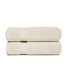 Zero Twist Cotton Bath Towels