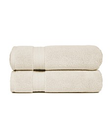 Zero Twist Cotton Bath Towels