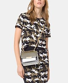 MICHAEL Michael Kors Camo-Print Jacquard Sweater, Regular & Petite