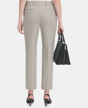 Calvin Klein Pants PETITE MODERN ANKLE PANTS