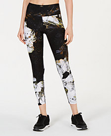 Calvin Klein Performance Floral-Print High-Rise Leggings