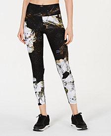 Calvin Klein Performance Floral-Print High-Rise Leggings