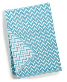 "CLOSEOUT! Cobra Chevron Cotton 27"" x 54"" Bath Towel"