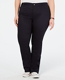 Trendy Plus Size Bootcut Pants
