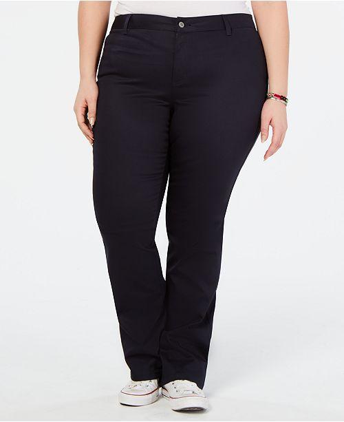 Dickies Trendy Plus Size Bootcut Pants