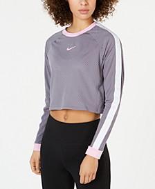 Hyper Femme Cropped Running Top