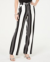 be205f0d51 I.N.C. Nolita-Stripe Wide-Leg Pants, Created for Macy's