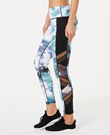 Ideology Aquatic Brush Printed Ankle Leggings, Created for Macy's
