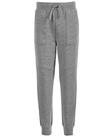 Ideology Little Boys Ribbed-Trim Jogger Pants, Created for Macy's