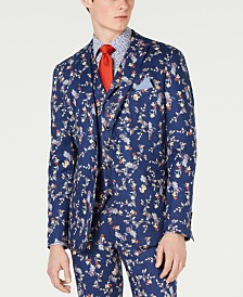 Tallia Men's Slim-Fit Floral Blazer