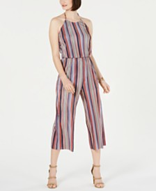 19 Cooper Striped Cropped Jumpsuit