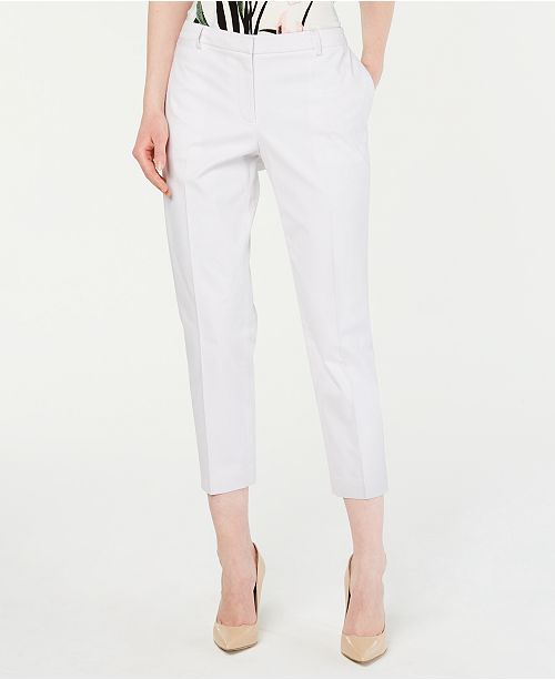 Tommy Hilfiger Cropped Straight-Leg Pants, Created for Macy's