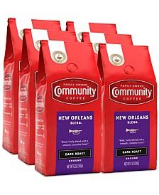 New Orleans Blend Special Dark Roast Premium Ground Coffee, 12 Oz - 6 Pack