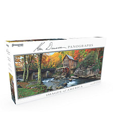 Pressman Toys - Images of America 504 Piece Panoramic Puzzle