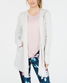 Ideology Textured Hooded Wrap, Created for Macy's