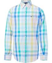 3227a1da664d Tommy Hilfiger Big Boys Jason Plaid Shirt