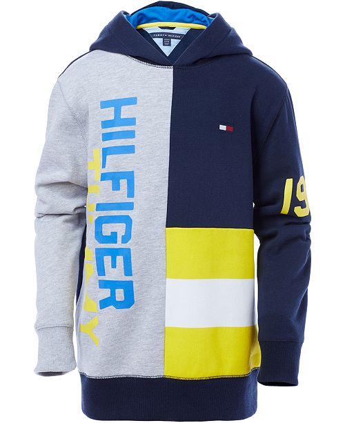 bb176b7bd Tommy Hilfiger Little Boy Pieced Pullover Hoodie & Reviews ...