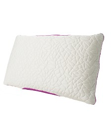 Protect-A-Bed Queen Therm-A-Sleep Snow Memory Foam Pillow ft. Nordic Chill Fiber and Tencel Collection