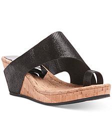 Donald Pliner Gyer Wedge Sandals